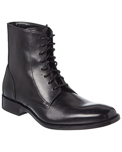Cole Haan Williams Botte En Cuir, 7, Noir