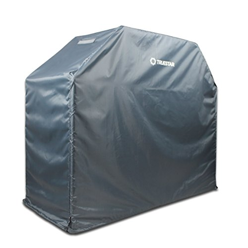 Veranda Stand (BBQ Grill Cover 58 Inch,Truestar 600D Heavy Duty Waterproof Gas Grill Cover, Veranda Grill Cover with UV Weather Fade Resistant Fabric for Weber, Brinkmann, Char Broil, Holland and Jenn Air)