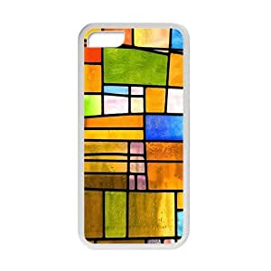 Creative Colorful Grid Cell Phone Case For Iphone 6 (4.5)
