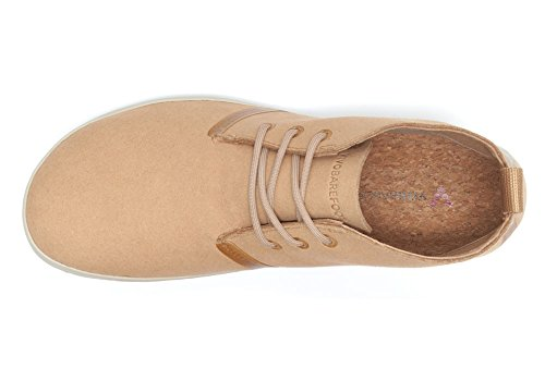 Vivobarefoot Mens Gobi II Eco Suede Boots Tan