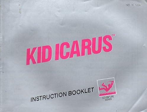 kid icarus nes instruction booklet manual nintendo manual only rh amazon com kid icarus nes walkthrough part 1 kid icarus nes item guide