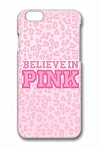 Believe In Pink Pattern Case for iPhone 6 4.7 Inch Accessory