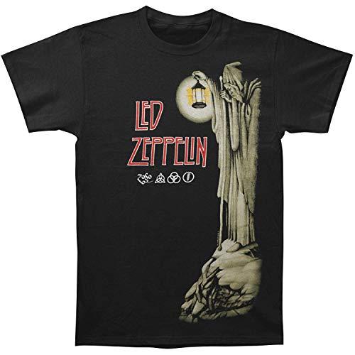 FEA Men's Led Zeppelin Hermit T-Shirt, Black, 2X-Large