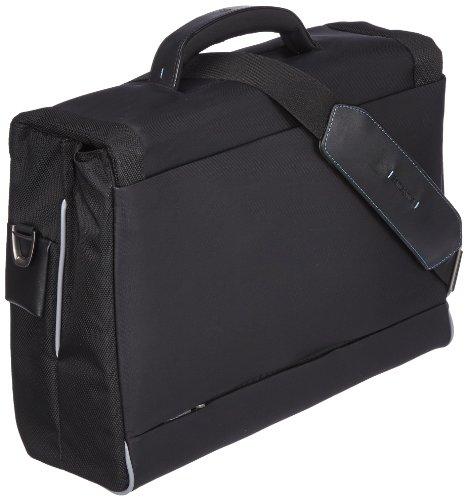 Samsonite Spectrolite Briefcase 2 Gussets 16 22 Liters, Schwarz Black