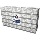 Kleenex 2-Ply Facial Tissues; Flat Box, 100 Sheets/Box, 10 Boxes/Pack