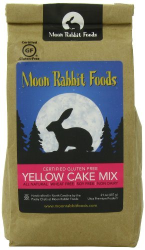 Moon Rabbit Gluten Free Yellow Cake Mix, 21-Ounce