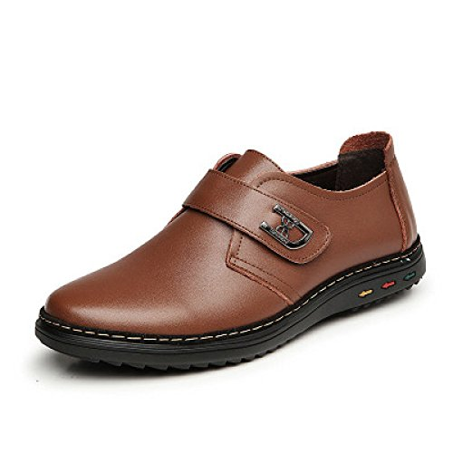 De Transpirables Nuevas Casuales XIAOLONGY Cuero Zapatos Fresco Verano Sandalias Hombres Crocs Zapatos Hombres De Fuera thefourseasonslaceBrown2101 Zapatos wpwEqxOCd