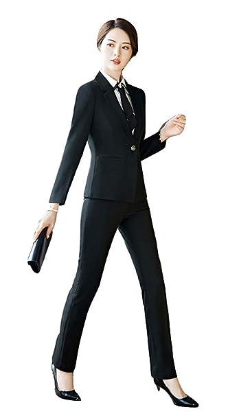 Amazon.com: Blazer Office Lady - Conjunto de chaqueta y ...