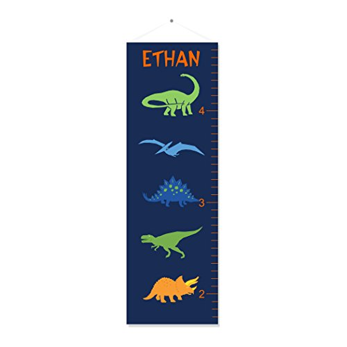 Dinosaur Personalized Growth Chart (Dinosaur Chart Personalized Growth)