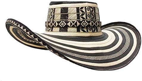Colombian Handmade Hat Sombrero Sinuano vueltiao Caña 19 Vueltas Made Artisans