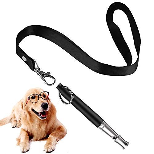 Mumu Sugar Professional Dog Whistles to Stop Barking, Trasonic Silent Dog Whistle Adjustable Frequencies, Effective Way of Training, Whistle Dog Whistle for Recall Training (How To Make Dogs)