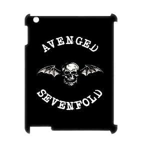 Ipad 2,3,4 3D PersonAvenged Sevenfoldzed Phone Back Case with Avenged Sevenfold Image