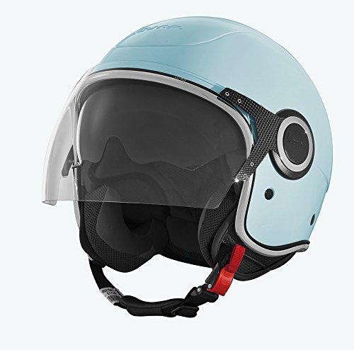 Vespa VJ 70^ Helmet - DOT Certified - Azure - M