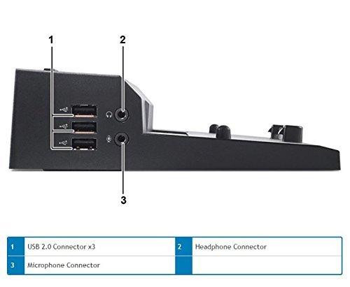 Dell E-Port Replicator 3.0 with 130W Power Adapter E Series Latitudes (PRO3X) by Dell (Image #4)