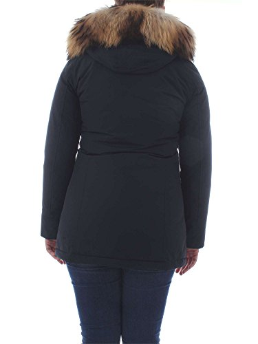 Woolrich Wwcps1447navy Poliestere Donna Blu Giacca Outerwear 11gHqz4