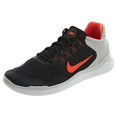 637ec4e9257c2 Nike Men s Free RN 2018 Black Total Crimson-Vast Grey-White Running Shoes   Buy Online at Low Prices in India - Amazon.in