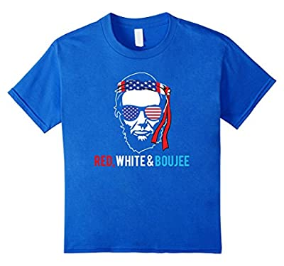 Red White and Boujee | Funny 4th of july shirt