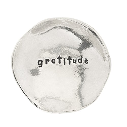 Gratitude Small Pewter Trinket Dish