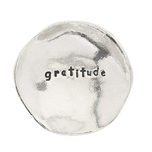 Gratitude Small Pewter Trinket Dish product image