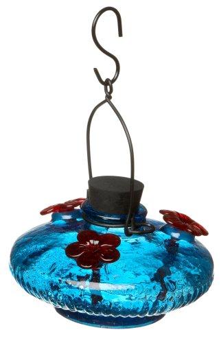 Bloom Hummingbird Feeder Aqua -