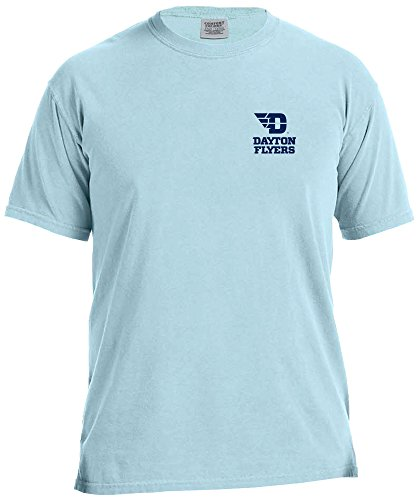 NCAA Dayton Flyers Adult Unisex NCAA Marquee Comfort Color Short sleeve (Colour Flyers)