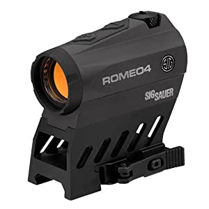 Amazon.com : Sig Sauer Romeo 4B 1X20 MM, 2 MOA Red Dot/ 65