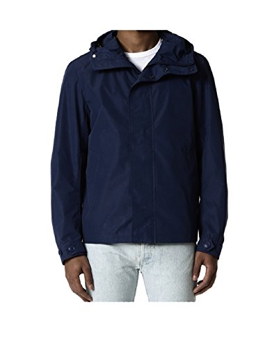 Blue Jacket Wocps2563 3989 Blu Melton Summer Woolrich Camou Rudder Dark vW7TnCAqw