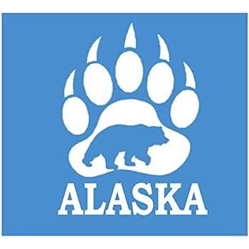 Bear family K309 8 inch decal kodiak grizzly sticker