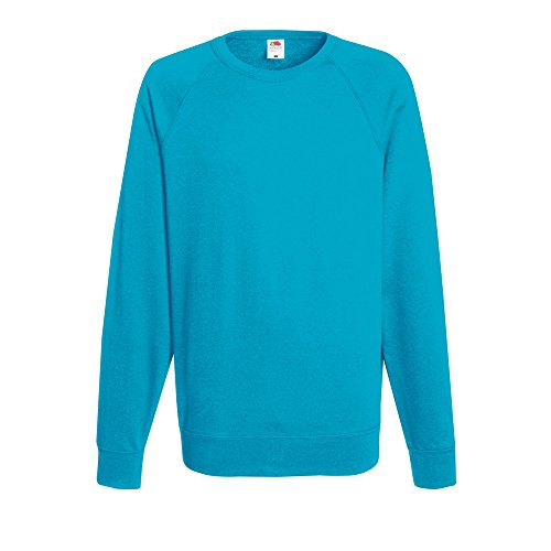 Fruit Of azure The Unisex Blu Sweatshirt Felpa Raglan Blue Loom rrdagqwB