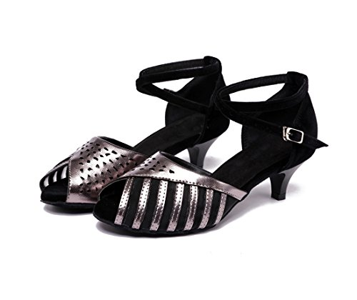 Moderno e Donna Grey Jazz 5cm Heel 4 Black Joymod MGM Zqfgf