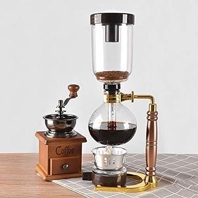 Máquina de café, Estilo japonés Sifón Cafetera Sifón Bote vacío ...