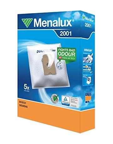 Ahorra en Menalux 2001 Pack con 5 bolsas y 1 filtro para aspiradores Bosch, Siemens