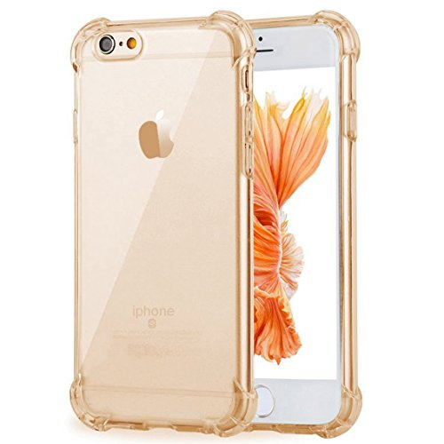 iPhone 7 Case,ibarbe Premium Slim Fit Crystal clear Perfect slim (Grey Marble Grid)