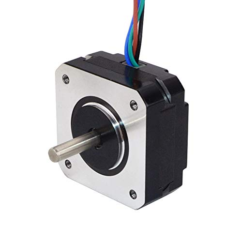 STEPPERONLINE Short Body Nema 17 Bipolar Step Motor 3.5V 1A 18.4oz.in/13Ncm DIY CNC