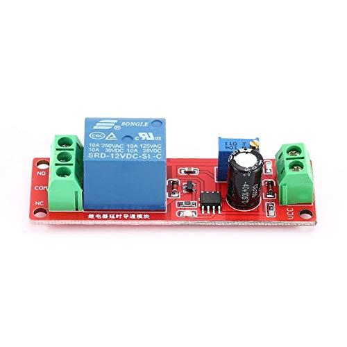 Mini NE555 Module de relais temporis/é r/églable 12 V