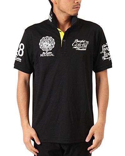 ガッチャゴルフ GOTCHA GOLF 半袖シャツ?ポロシャツ ドライUVカットカレッジベーシック半袖ポロシャツ4
