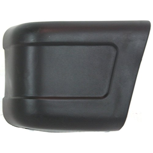 Evan-Fischer EVA1717209895 Bumper End for Suzuki Samurai 86-95 Front Left Side Plastic (Suzuki Samurai Bumper End)