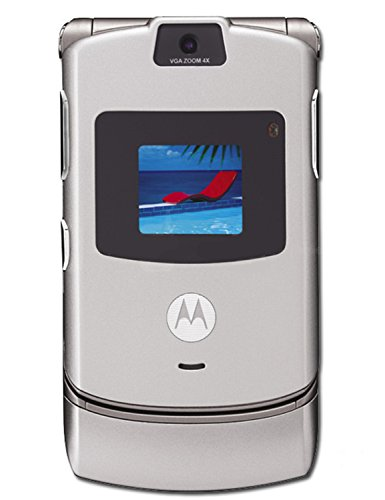 AT&T Motorola RAZR V3 No Contract Quad Band GSM Camera Cell Phone