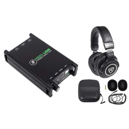 Mackie MDB-USB Stereo USB Direct Box DI Box For PC + Headphones