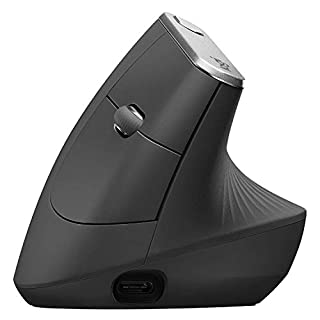 Logitech MX Vertical Wireless Mouse - Rechargeable, Graphite (B07FNJB8TT) | Amazon price tracker / tracking, Amazon price history charts, Amazon price watches, Amazon price drop alerts