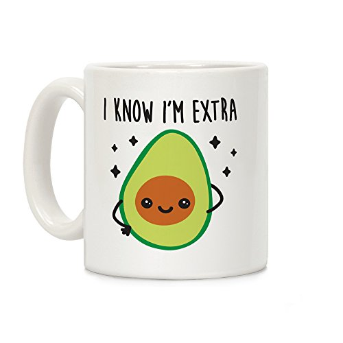 LookHUMAN Extra Avocado Ceramic Coffee product image
