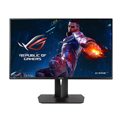 "ASUS ROG Swift PG278QR 27"" Gaming Monitor 1440p 1ms 165Hz DP HDMI G-SYNC Eye ..."