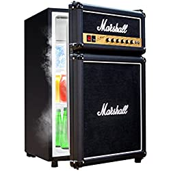 Marshall Fridge 4.4 High Capacity Compact Refrigerator with Freezer Shelf