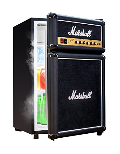 (Marshall Fridge 4.4 High Capacity Compact Refrigerator with Freezer Shelf)