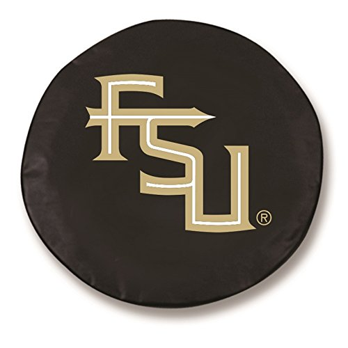 Tire Cover State (HBS Florida State Tire Cover with Seminoles 'FSU' Logo on Black Size: Z - 33 x 12.5 Inch)
