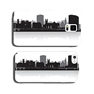 Limerick city skyline vector silhouette cell phone cover case iPhone6 Plus