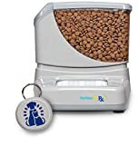 PortionProRx Automatic Pet Feeder (for Dogs and Cats) - Delivers Scheduled Meals and Prevents Food Stealing Among Multiple Pets.