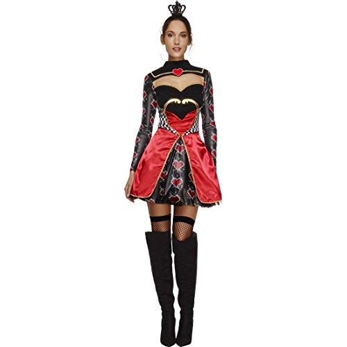 NET TOYS Disfraz Reina de los Corazones - S (ES 36/38) | Vestido ...
