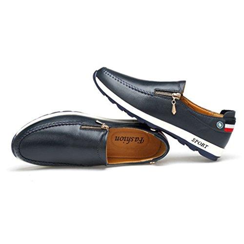 Zapatos Azul Hombre Feidaeu Feidaeu Hombre Zapatos XXrn57q6w