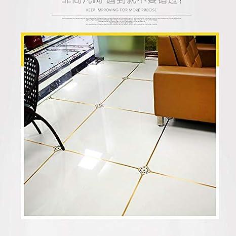 Amazon Com Living Room Bedroom Floor Tile Waterproof Mildew Beauty Seam Stickers Wall Gap Decoration Floor Tile Stickers Self Adhesive 1cm Gold Foil Home Kitchen
